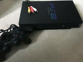 Sony Playstation 2 Games Console With 27 PS2 Games + Controller **Colchester**