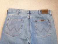 mens wrangler jeans as new