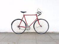 XXL Raleigh Clubman Reynolds 531 touring club commuter bike SERVICED