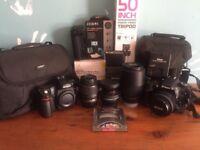 Nikon D7100 + Nikon D80 & Accessories