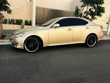 2007 Lexus IS250 Luxury Low Ks Logbooks Sensor Start Mags Leather Meadowbank Ryde Area Preview