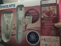 Philips epilator satin perfect deluxeHP6581/03 dry&wet
