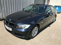 2007 (07) BMW 320i SE 2.0 PETROL - MONACO BLUE - 13 SERVICE STAMPS - JAN 18 MOT - E90 3 SERIES