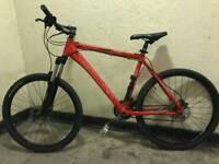 Red Edinburgh mountain bike