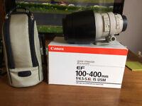 Canon EF 100-400 lens