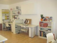 Two Desk Spaces to rent on Brick Lane