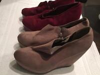 **Ankle Boots duo deal - £25 -Size 8- never been worn**