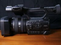 SONY PXW-Z150 4K CAMCORDER - PRISTENE with 2 extra NP-F970 Batteries worth £300