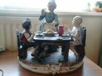 copodimonte italian porcelain collecctable signed