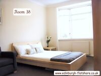 Edinburgh Flatshare RM 50 - Gorgeous Double Room - ALL BILLS INCLUDED IN MONTHLY RENT