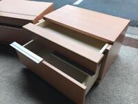 2 Bedside Cabinets (@07752751518)