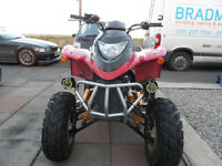 2008 New Force / Quadzilla / Apache 250cc Road Legal Quad with M.O.T.