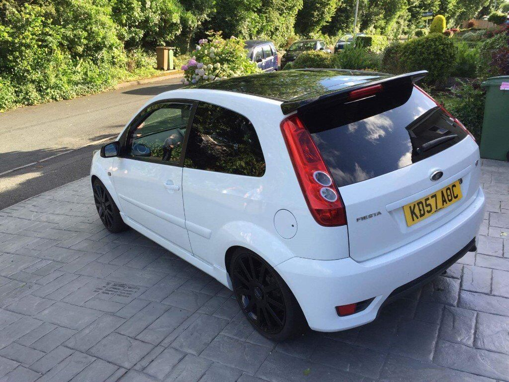 ford fiesta st 150 2007 in frozen white in plymouth devon gumtree. Black Bedroom Furniture Sets. Home Design Ideas