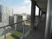 3 Bed Penthouse Available Located Only 5 Min Walk to Canary Wharf Underground Stn *SHORT LET*