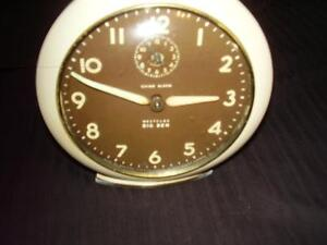 Westclox Big Ben Chime Alarm Clock Antique