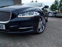 2011 BLUE JAGAUR XJL RARE LONG WHEELBASE VERSION,LUXURY V6 DIESEL