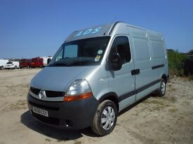 Renault master mm33-dci-100 2007-56-reg,2464 cc lwb high top, new mot ,3 months warranty