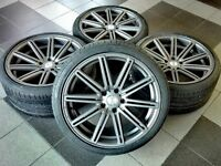 New Vossen R20 20 inch rims and tyres set for BMW F10 F11 E60 E61 M5 wheels set