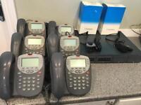 Avaya complete 6 handset phone system