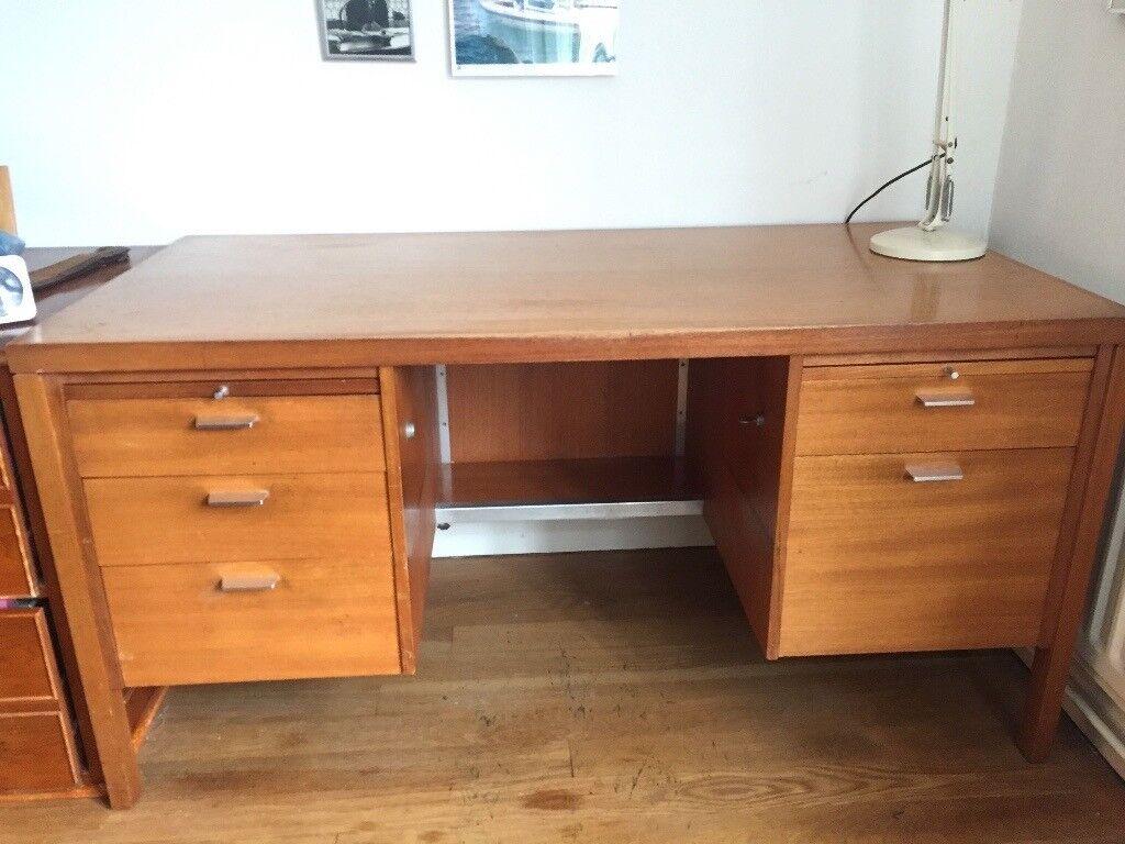 Superior Office Desk Light Oak Fantastic Value In Exeter