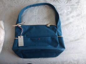 Radley Eco Cloth Street Shoulder/hobo Bag in Steel Blue