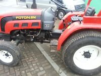 Foton tractor ex working order very low hours of use need sold asap.... john deere ford kabota stihl