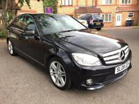 2009 09 Mercedes C220 AMG Black Automatic One Owner Low Mileage