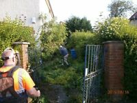 DO IT ALL..garden maintenance, Tidy ups,Fence Erected etcNorth/South Lanarkshire, all waste rem by