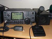 Icom ic7400 transceiver