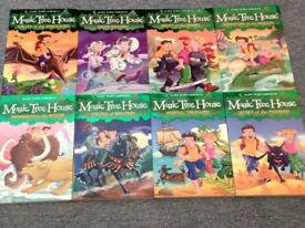 8 Magic Tree House Books