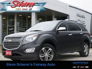 2016 Chevrolet Equinox LTZ BLUETOOTH NAV AWD