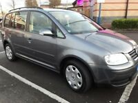VW TOURAN 7 SEATER 1.6 PETROL 2005