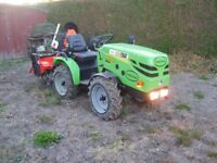 Felderman 16HP Standard Mini Compact Tractor (With Rotavator & 3 point linkage to PTO Drive).