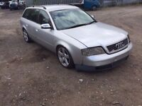 AUDI A6 2.5 TDI AUTOMATIC 2000 ESTATE BREAKING FOR PARTS