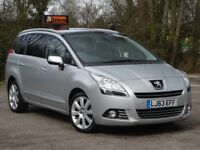 Peugeot 5008 1.6 e-HDi FAP Allure EGC 5dr 1 OWNER + PAN ROOF +7 SEATER