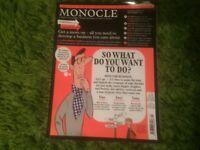 Monocle Magazine stack