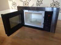 BLACK INTEGRATED IKEA MICROWAVE OVEN MW 10 S