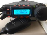 Ham radio, Yaesu 857d Amateur radio transciver