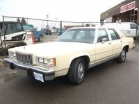 1987 Mercury Grand Marquis LS Mint condition! 47,000 km;s