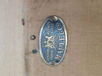 Maple & Co antique pine wardrobe