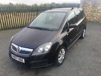 2007 57 VAUXHALL ZAFIRA 1.9 CDTI LIFE *7 SEATER* - DIESEL M.P.V - 6 SPEED MANUAL - *JULY 2017 M.O.T*