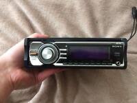Car Radio AUX built in suboofer SONY