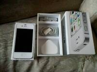 Iphone 4s 8gb with box