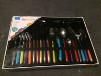 BRAND NEW Amefa 24 piece cutlery set . Boxed