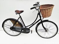 Ladies Pashley Town bicycle with basket