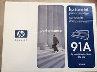HP LaserJet print cartridge 91A / 92291A