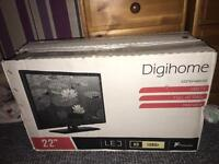 "22"" tv brand new in box"