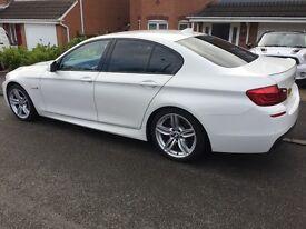 BMW 520d m sport auto (2012)white -£13,400