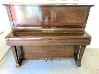 Beautiful Mahogany 'Brinsmead' Upright Console Piano - CAN DELIVER