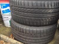 3x 245/40R19 Goodyear Tyres